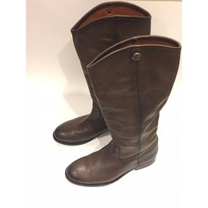 Frye Melissa Button Riding Boots - size 7